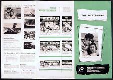 MYSTERIANS 1957 Ishiro Honda - Kenji Sahara, Yumi Shirakawa UK PRESSBOOK