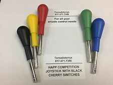 1 HAPP COMPETITION 8 WAY JOYSTICK FOR SEGA NAMCO TEKKEN ARCADE JAMMA MAME