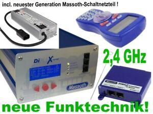 Massoth Set DiMAX Digitalzentrale 1210z 12A + Netzteil + Navigator + 2.4GHz Funk