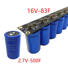 16v 83f Farad Capacitor Super Aluminum Capacitor 27v 500f Amp Protection Board