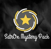 SatrOx football Mystery Pack 2-3Hits 3-4 #'d Cards $75+ Value | Read Description