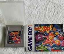 Mr Do Nintendo  Gameboy Game ,RARE with instruction manual & case Game boy.