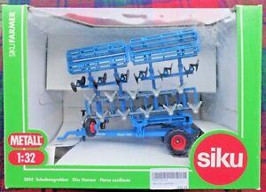 SIKU 2054 1/32 blue Lemken Gigant 1000 Disc Harrow (very large!) (MIB)
