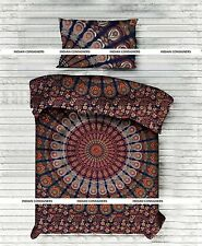 Royal Duvet Doona Cover Set Single Twin India Mandala Warm Cotton Comforter Case