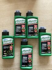 5x Roundup 500ml Ultra Super Concentrate Weedkiller