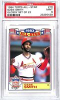 1984 Topps Glossy All-Star Baseball Card_#16 Ozzie Smith_PSA 9 MINT_HOF