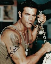 LORENZO LAMAS signed Autogramm 20x25cm RENEGADE in Person autograph COA