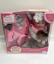 """New Baby Emma's Playette 18"""" Cuddly Love Baby Dolls - Free Shipping"""