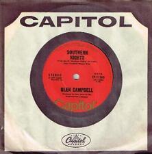 "GLEN CAMPBELL - SOUTHERN NIGHTS - RARE 7"" 45 VINYL RECORD - 1977"
