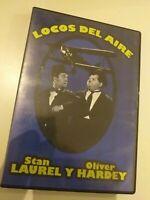 dvd   LOCOS DEL AIRE  DE S.LAUREL Y O.HARDEY (coleccionistas )