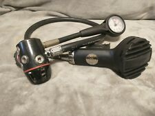 Dive Rite RG4500 DIN 1st stage & Jetstream 2nd stage Scuba Regulator Great cond