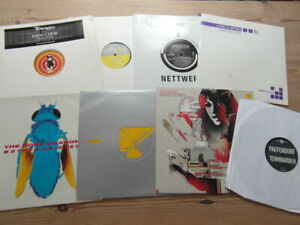 """A COLLECTION OF HOUSE,TRANCE,TEKNO, GARAGE 12"""" SINGLES x 8-2000's VG-EX-6"""