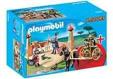 Playmobil Roma Ref 6868 NUEVO, Set Romanos, Gladiador con Carro, Romano, Caja