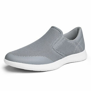 Bruno Marc Mens Slip on Casual Shoes Comfort Knit Sneakers Classic Loafers