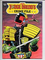 Judge Dredd's Crime File #1-4 1989 TPB Fleetway Quality Comics [Choice]