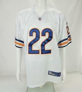 Reebok NFL On Field Matt Forte #22 Chicago Bears Jersey White Men's Size 50