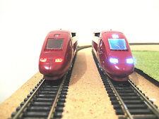 NEW éclairage inversé BLANC OU JAUNE & ROUGE TGV GAMME MEHANO neuf