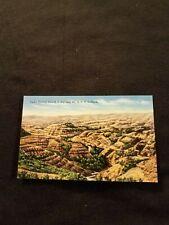 Cedar Canyon from US Highway 10 in North Dakota Badlands - Old Postcard Unused