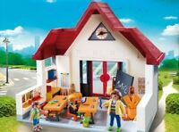 Playmobil Colegio Juega a la Escuela Juguete Niño Educativo Incluye 3 Figuras