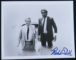 Bubba Smith Stroker Ace Football Autographed Signed 8x10 B&W Photo