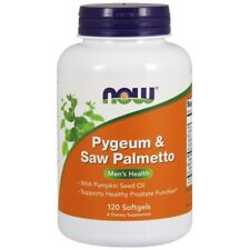 NOW FOODS Pygeum & Saw Palmetto 120 Softgels