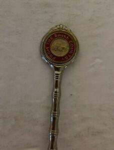 """Vintage Amish Country Collectible Souvenir Spoon 4 1/4"""" Long Silver tone Rare"""