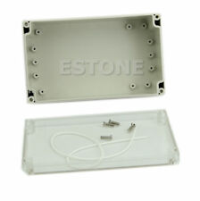 Waterproof Clear Case 85x58x33mm Cover Plastic Electronic Project Box Enclosure