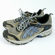 Men's ASICS Running Shoes TN833 GEL Arctic  7.5 With Removable Spikes Studs