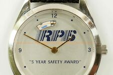 Vintage RPS Roadway Package System 5 Year Safety Award Wrist Watch