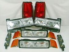 1994-1999 GMC SIERRA YUKON Headlight Set with other Lights Pictured truck & Suv