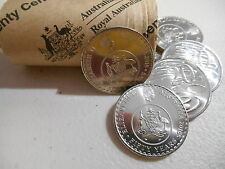 2016 Decimal Currency Changeover Coin 1 x  20c TWENTY Cent  From  Mint Roll