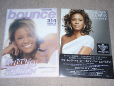 WHITNEY HOUSTON I Look to You Whatchlookinat? ULTIMATE COLLECTION flyer x4 MINT