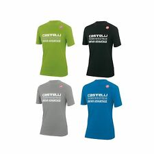 Castelli Short Sleeve Cycling Casual T-Shirts and Tops