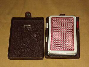 VINTGE 1 DECK UNOPENED JOHN WADDINGTON ENGLAND PLAYING CARDS IN HOFFRITZ NY CASE