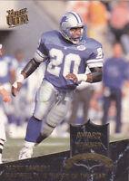 "1992  BARRY SANDERS - Ultra ""Award Winners"" Football Card # 8 - Detroit Lions"
