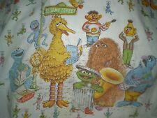 Vintage SESAME STREET BAND Fabric (40cm x 29cm)
