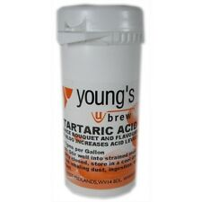 Young's Brew Tartaric Acid To Enhance Wine Flavour 50g