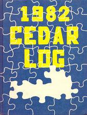 Cedar Cliff High School Yearbook 1982 Camp Hill, PA (Cedar Log)