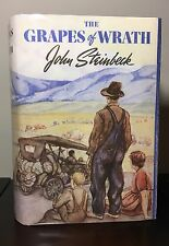 THE GRAPES OF WRATH by John Steinbeck ~ 1st ed & 2nd printing ~VERY GOOD