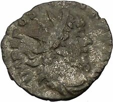 POSTUMUS 260AD RARE Billon Silver Ancient Roman Coin Forethought Goddes i46347