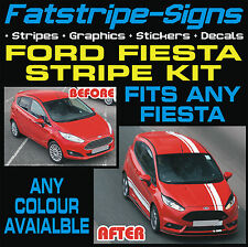 FORD FIESTA MK7 ST STRIPES CAR VINYL GRAPHICS DECALS RACING STICKERS 1.6 ZETEC T