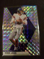 2020 Mosaic Daniel Jones Silver Mosaic Prizm #151 Giants SP NY New York Football