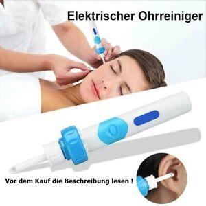 Elektrische Ohren Reinigung Sauger Gerät Ohrenreiniger Ohrenschmalz