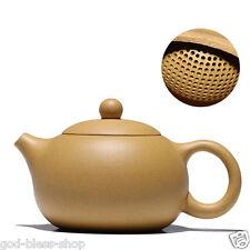 Authentic yixing zisha Sesame duan clay tea pot marked ball infuser holes xishi