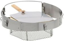 PizzaQue Pizza Kit for Kettle Grills Folding Aluminum Oven Cooking Accessory