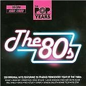 Various - [The Pop Years] The 80s - Various CD MKVG The Cheap Fast Free Post The