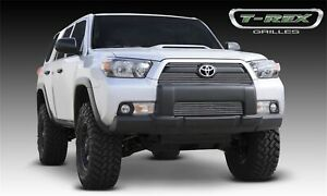 For 2010-2013 Toyota 4Runner Polished Aluminum Grille Overlay