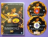 DVD Film Ita Avventura IMMORTALS 3D mickey rourke ex nolo no vhs cd lp mc (T4)