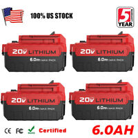 20X 6.0Ah Extended Capacity for Porter Cable 20V MAX Lithium-ion Battery PCC685L