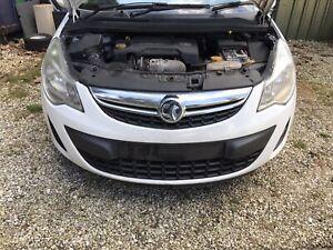 Vauxhall Corsa D 2012 Facelift Front Bumper WHITE